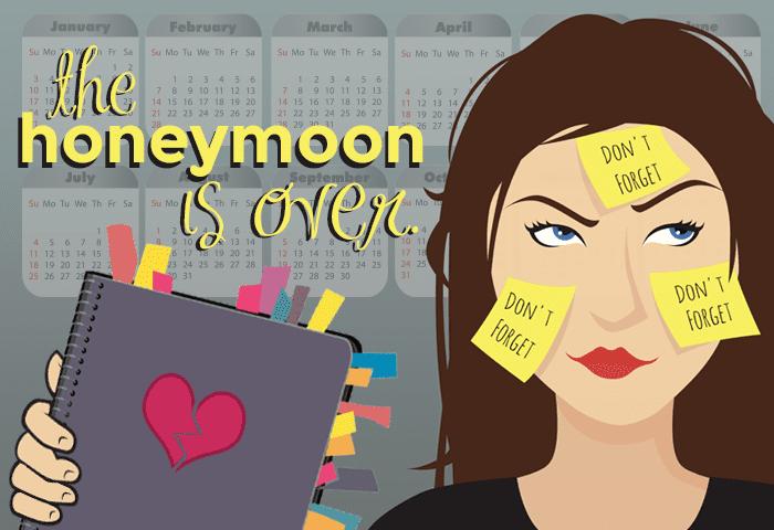 honeymoon-over