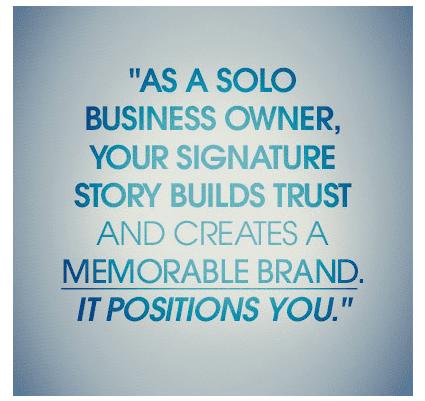 solo entrepreneur story