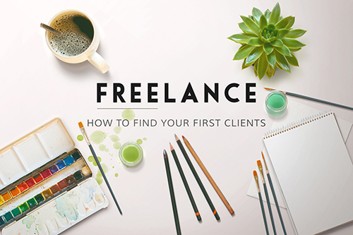 How to find your first clients freelancing