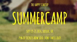 a happy startup summercamp