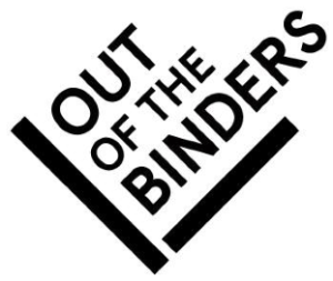 out of the binders