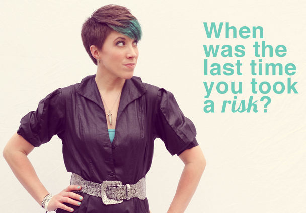 A Vibrant Life: 3 Reasons Why Taking a Risk May Be What You Need by @ErinmGiles | She Owns It