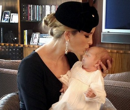 Ivanka Trump shared an Instagram picture of herself with her son ...