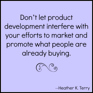 Don't let product development interfere with marketing
