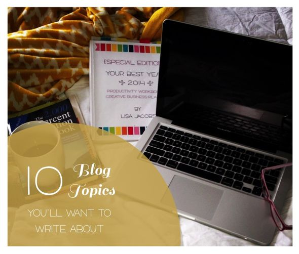 Blog topics | She Owns It