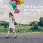 boost email opt-in