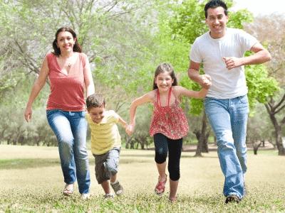 family running exercise