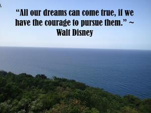 Walt Disney Dream Quote