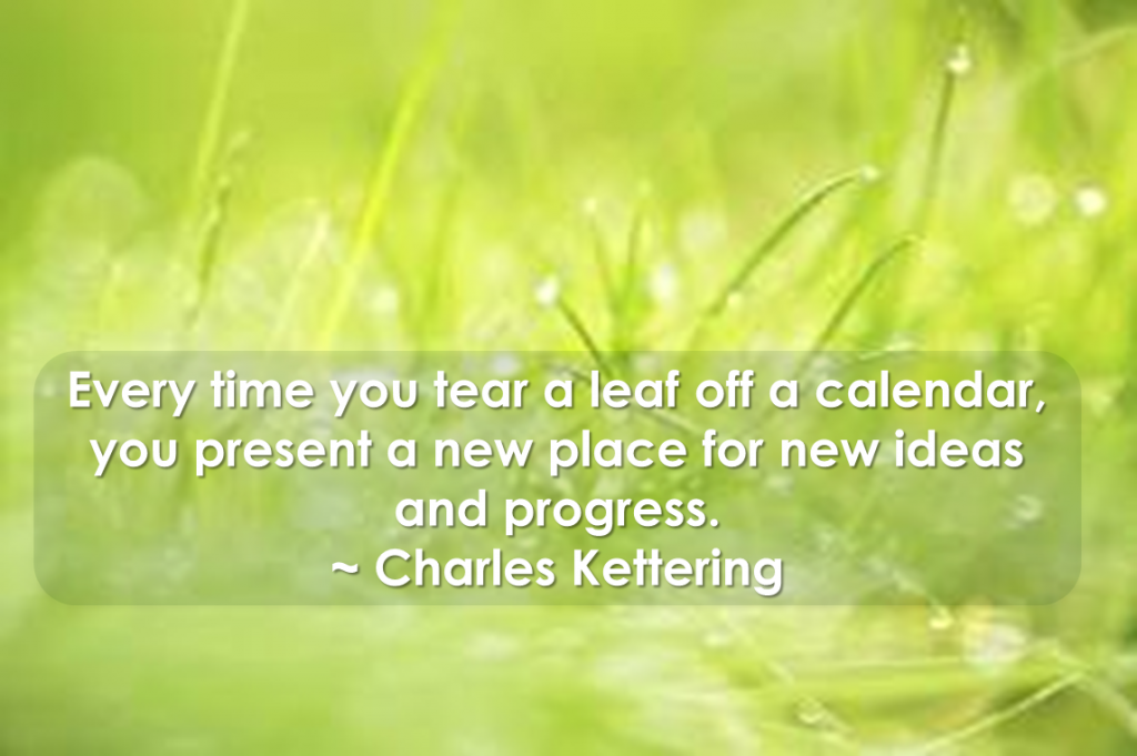 Charles Kettering quote for SOI