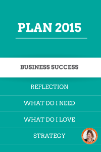 Plan your business success for 2015