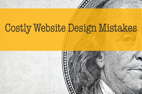 Costly Website Design Mistakes image