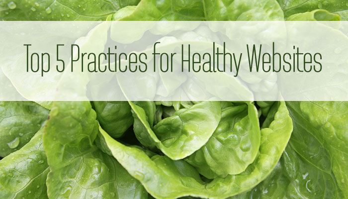 Healthy website tips
