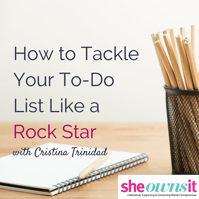 How to Tackle Your To-Do List Like a Rock Star by @faithfulsocial via @melissaonline