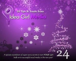 Keri Jaehnig of Idea Girl Media offers readers of SheOwnsIt.com 24 Tips & Tools for DIY social media marketers