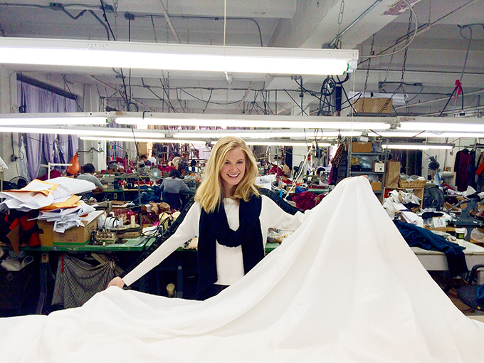 Olivia in Factory