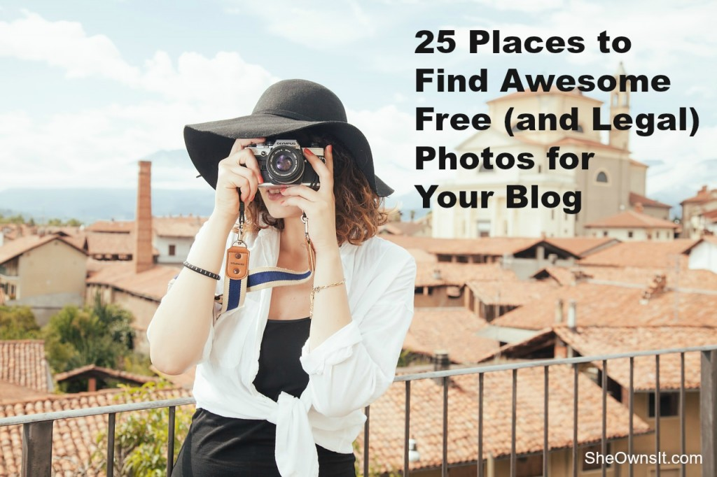 25 Places to Find Free (and legal) Photos for Your Blog