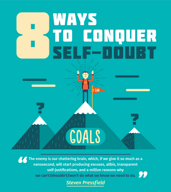 8 Ways To Conquer Self Doubt