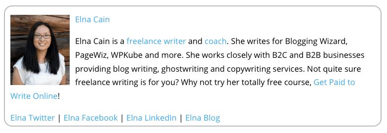 biography writer online