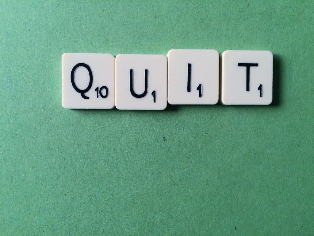 It's OK to Quit