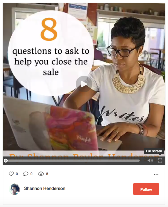 Flipagram The Eight Questions to Ask to Close the Sale