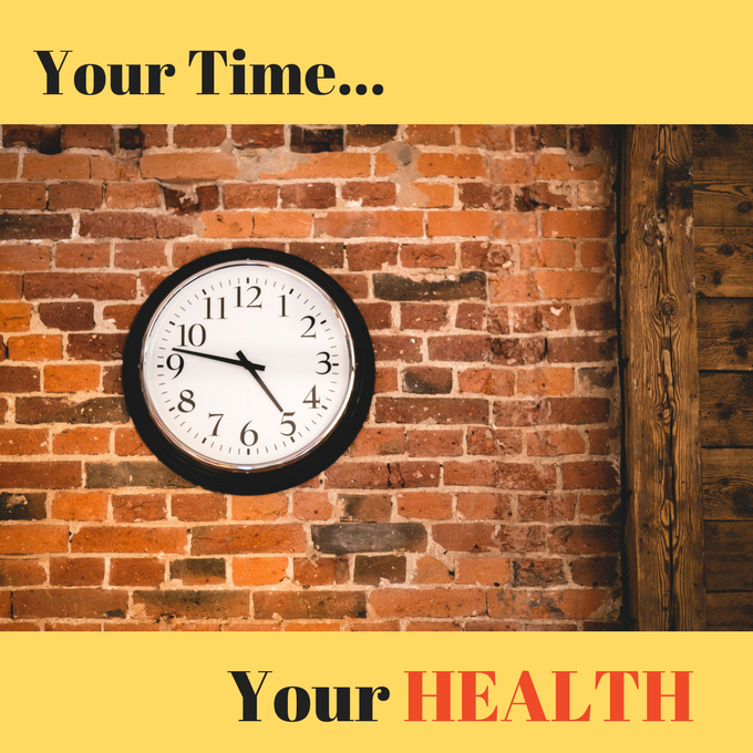 time management healthy lifestyle