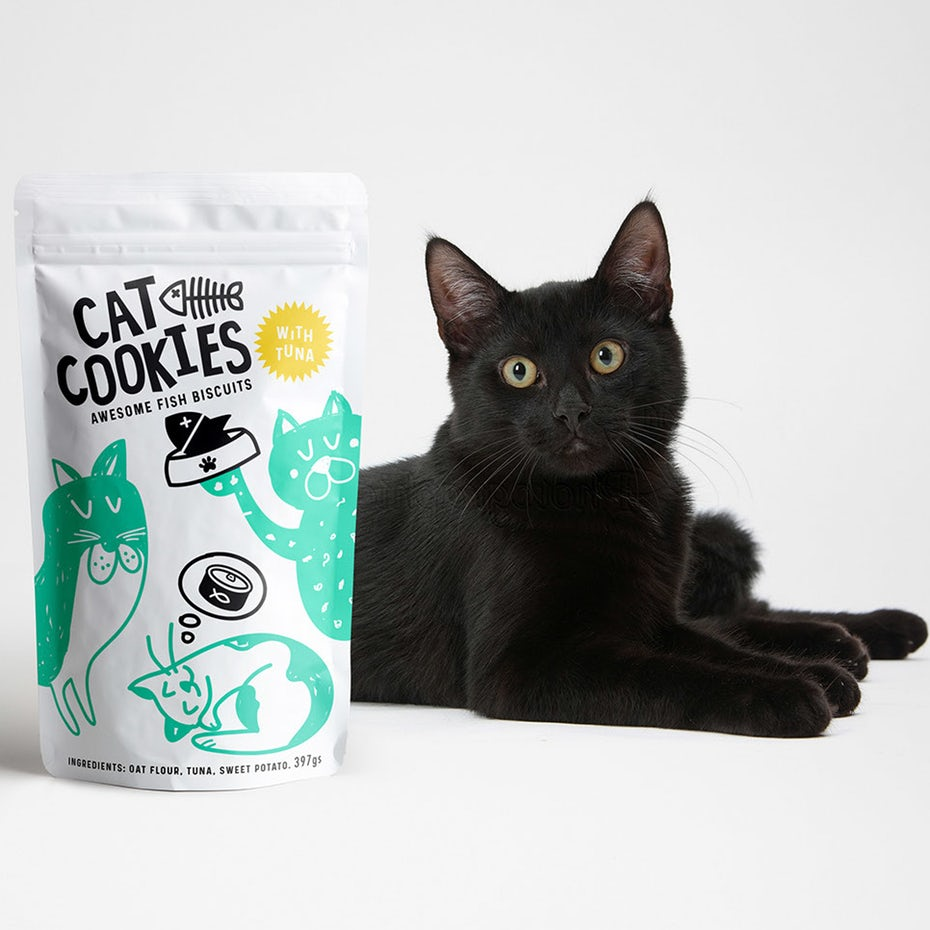 Cat Cookies packaging design by melvas.