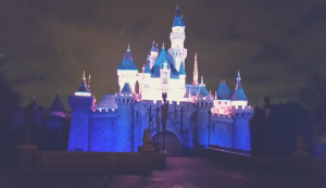 Disneyland at night/ J.Jill