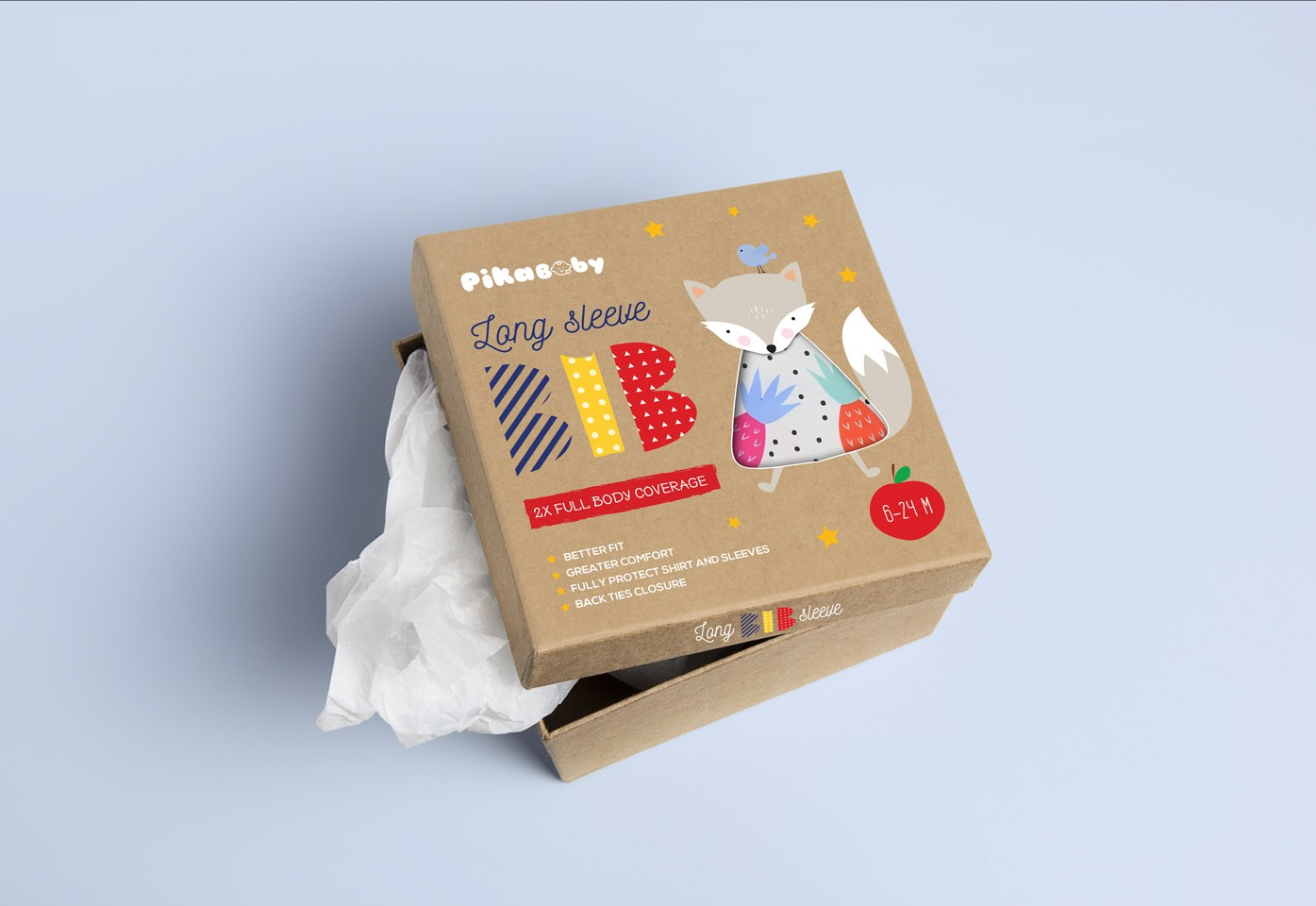 Baby product packaging design by .g.