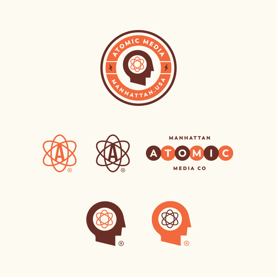 Atomic media concepts by thisisremedy.