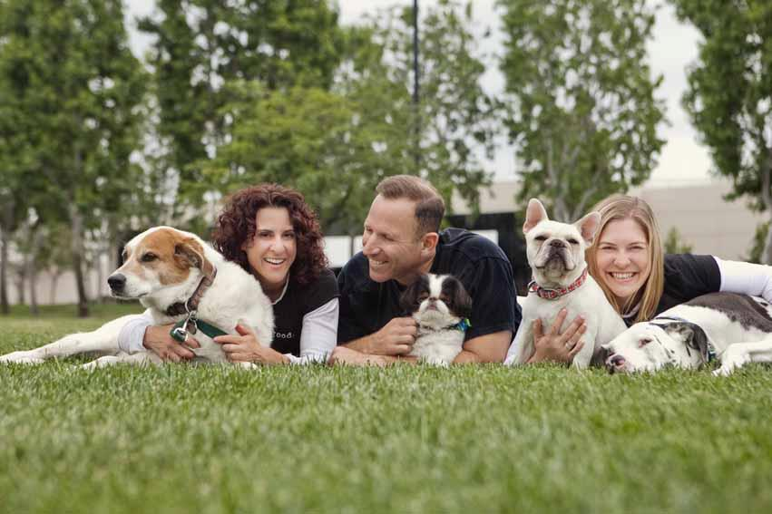 Gila Kurtz and Jon Kurtz of Dog is Good